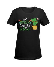We stick together in 1st Grade Ladies T-Shirt women-premium-crewneck-shirt-front