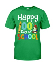 HAPPY 100TH DAYS OF SCHOOL Classic T-Shirt front