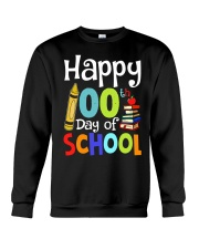 HAPPY 100TH DAYS OF SCHOOL Crewneck Sweatshirt thumbnail