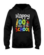 HAPPY 100TH DAYS OF SCHOOL Hooded Sweatshirt thumbnail