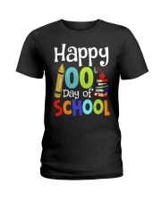 HAPPY 100TH DAYS OF SCHOOL Ladies T-Shirt tile