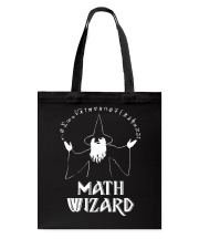 MATH WIZARD Tote Bag tile