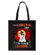 Bootiful day To Teach Music Tote Bag thumbnail