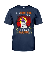 Bootiful day To Teach Music Classic T-Shirt tile