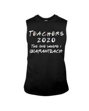 Teachers 2020 - I QUARANTEACH Sleeveless Tee thumbnail