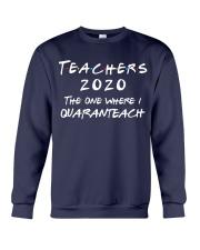 Teachers 2020 - I QUARANTEACH Crewneck Sweatshirt thumbnail