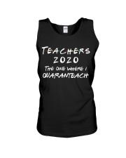Teachers 2020 - I QUARANTEACH Unisex Tank thumbnail