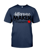 Teacher Difference Maker Classic T-Shirt tile