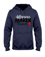 Teacher Difference Maker Hooded Sweatshirt tile