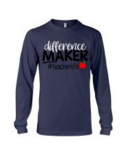 Teacher Difference Maker Long Sleeve Tee thumbnail