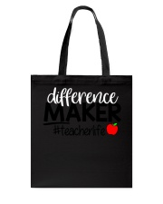 Teacher Difference Maker Tote Bag tile