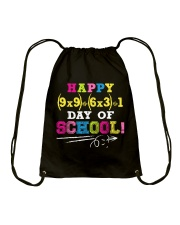 HAPPY 100 DAY OF SCHOOL  Drawstring Bag tile
