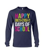 HAPPY 100 DAY OF SCHOOL  Long Sleeve Tee thumbnail