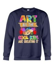 Art All The Cool Kids Are Creating it Crewneck Sweatshirt thumbnail