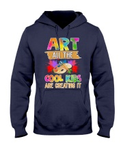 Art All The Cool Kids Are Creating it Hooded Sweatshirt thumbnail