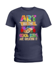 Art All The Cool Kids Are Creating it Ladies T-Shirt thumbnail
