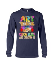 Art All The Cool Kids Are Creating it Long Sleeve Tee thumbnail
