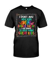 Dance Great Kids Classic T-Shirt front