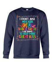 Dance Great Kids Crewneck Sweatshirt thumbnail