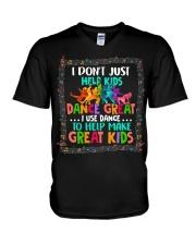 Dance Great Kids V-Neck T-Shirt thumbnail