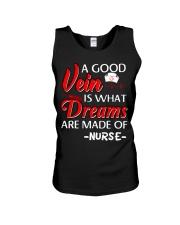 Dreams Are Made Of Nurse Unisex Tank thumbnail