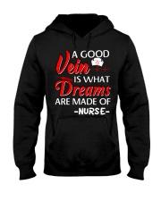 Dreams Are Made Of Nurse Hooded Sweatshirt thumbnail