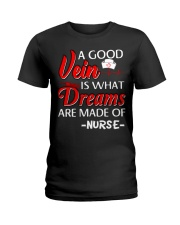 Dreams Are Made Of Nurse Ladies T-Shirt thumbnail