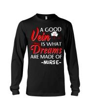 Dreams Are Made Of Nurse Long Sleeve Tee thumbnail