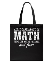 ALL I CARE ABOUT IS MATH Tote Bag thumbnail