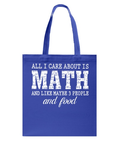 ALL I CARE ABOUT IS MATH
