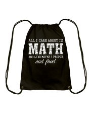 ALL I CARE ABOUT IS MATH Drawstring Bag thumbnail