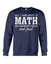 ALL I CARE ABOUT IS MATH Crewneck Sweatshirt thumbnail