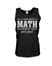 ALL I CARE ABOUT IS MATH Unisex Tank thumbnail
