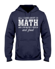 ALL I CARE ABOUT IS MATH Hooded Sweatshirt thumbnail
