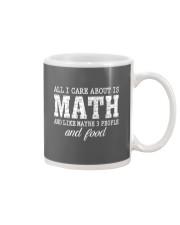 ALL I CARE ABOUT IS MATH Mug thumbnail