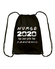 Nurse 2020 Drawstring Bag thumbnail