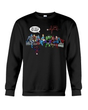 And that's how i saved the world Crewneck Sweatshirt thumbnail
