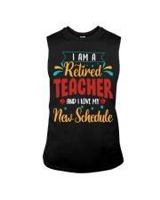 I Am a Retired Teacher Sleeveless Tee thumbnail