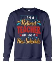 I Am a Retired Teacher Crewneck Sweatshirt thumbnail