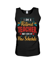 I Am a Retired Teacher Unisex Tank thumbnail