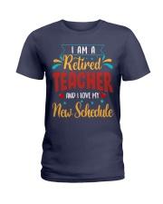 I Am a Retired Teacher Ladies T-Shirt thumbnail