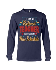 I Am a Retired Teacher Long Sleeve Tee thumbnail