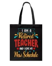 I Am a Retired Teacher Tote Bag thumbnail
