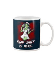 Night Shift Is Here Mug thumbnail