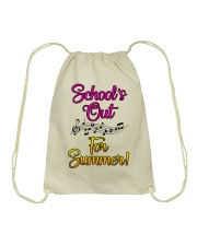 School's out for Summer Drawstring Bag thumbnail