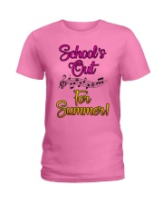 School's out for Summer Ladies T-Shirt tile