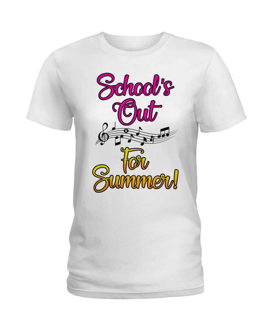 School's out for Summer Ladies T-Shirt