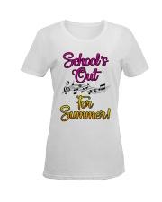 School's out for Summer Ladies T-Shirt women-premium-crewneck-shirt-front