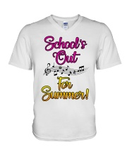 School's out for Summer V-Neck T-Shirt thumbnail