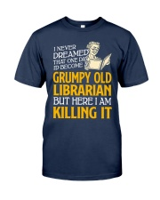 Grumpy Old Librarian Classic T-Shirt tile